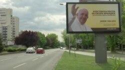 Последни подготовки пред посетата на папата во Скопје