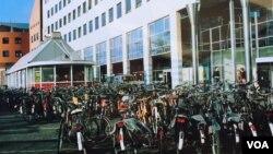 Hà Lan nổi tiếng là xứ sở của xe đạp (Ảnh: Bùi Văn Phú)