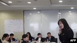 Китайские студенты на занятиях (архивное фото)