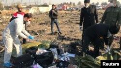 Se descarta que el accidente del vuelo PS752 cerca del aeropuerto de Teherán se deba a un acto terrorista (Foto: Reuters)
