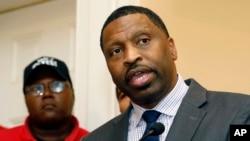 美國全國有色人種協進會主席約翰遜資料照。