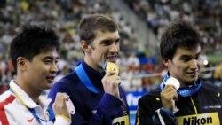 نخستین طلای فلپس در شانگهای