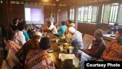 Pendidikan dan latihan relawan Koppasandi di Kabupaten Kulonprogo. (Foto courtesy: Koppasandi)