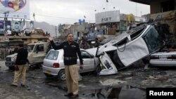 巴基斯坦奎達地區發生血腥爆炸造成嚴重死傷