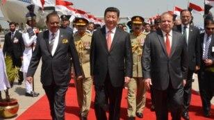 چین کے صدر کی پاکستان آمد