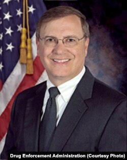 Drug Enforcement Administration Acting Administrator Chuck Rosenberg.