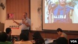 记者无国界举行台北办公室成立记者会