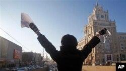 莫斯科示威活動