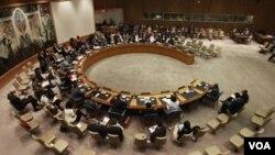 Ke-15 anggota Dewan Keamanan PBB akan membahas resolusi mengenai Suriah hari ini (27/1).