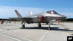 Máy bay phản lực chiến đấu F-35.