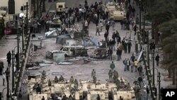 عکس العمل ها در مورد احتجاجات در مصر
