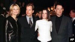 """تام هنکس و مگ رایان در فیلم """" شما ایمیل دارید"""""""