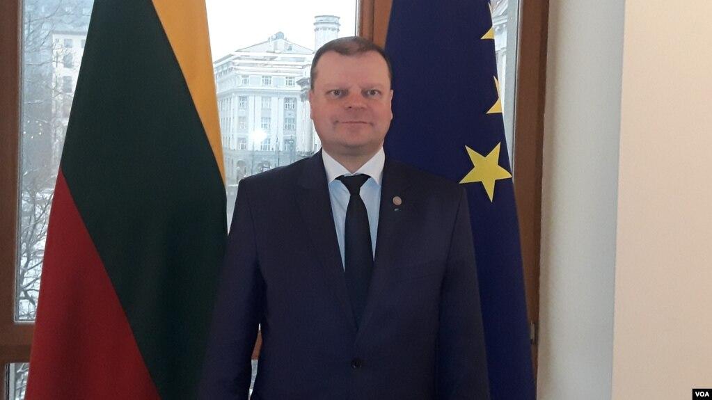 Bildergebnis für Премьер-министр Литвы: «Бизнес всегда смотрит туда, где его ждут»