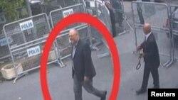 Džamal Kašogi dolazi u saudijski konzulat u Istanbulu