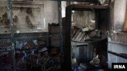 آتش سوزی در یک مدرسه در زاهدان