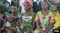 Wanita-wanita korban kekerasan seksual di Kongo (foto: dok). Inggris mengumumkan upaya untuk melawan kekerasan seksual terhadap perempuan di daerah konflik.