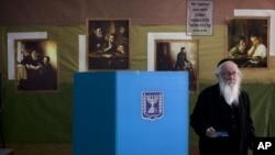 На одном из избирательных участков в Иерусалиме, Израиль. 22 января 2013 года
