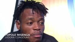 Popole Misenga, judoka congolais, concours pour l'équipe des réfugiés (vidéo)