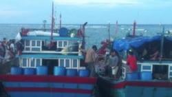 Thêm 2 tàu cá Việt bị tấn công ở Hoàng Sa