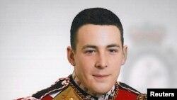 지난 23일 피살된 영국군 리 릭비 / 군에서 드럼을 연주했다.
