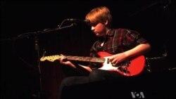 Texas Teen Examines the Music of the Backyard