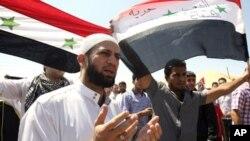 敘利亞民眾要求阿薩德落台。
