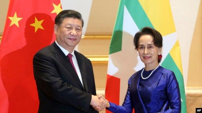 习近平抵达缅甸 深耕两国特殊关系