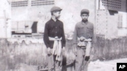 Khmer Rouge child cadres.