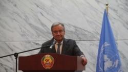 Guterres diz que Moçambique tem legitimidade moral para exigir atenção da comunidade internacional
