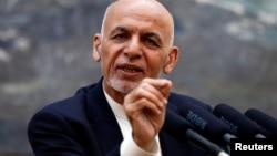 ဒီကေန႔ သတင္းစာရွင္းလင္းပြဲက်င္းပတဲ့ အာဖဂန္သမၼတ Ashraf Ghani (ဇြန္ ၃၀၊ ၂၀၁၈)