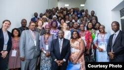 Les participants à la troisième édition du Forum Africain pour la Résilience 1