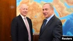 قرار است جیسون گرین بلات با طرفین اسرائیلی و فلسطینی دیدار کند.