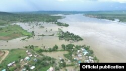 myanmar flood in mandalay (MOI)