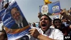 تظاهرات سلفی های مصر در اعتراض به حذف حازم ابو اسماعيل