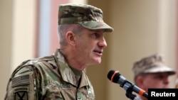 جنرال جان نیکلسن، قوماندان نیروهای امریکایی و ناتو در افغانستان