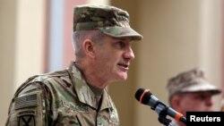 Panglima baru pasukan NATO di Afghanistan, Jenderal AS John Nicholson (foto: dok).