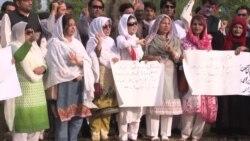 سوشل میڈیا کارکنوں کے خلاف کارروائی پر احتجاج