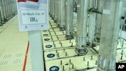 ARHIVA - Centrifuge za obogaćivanje uranijuma u iranskom nuklearnom postrojenju Natanc