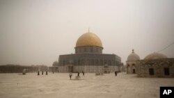 알아크사 이슬람 사원 전경 (자료사진)