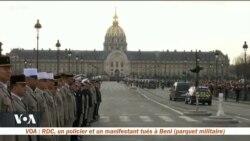 Hommage au 13 soldats français tués au Mali
