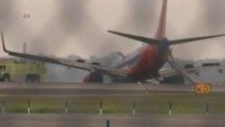 Десять человек пострадали в результате аварии самолета в Нью-Йорке