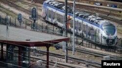 Novi regionalni voz na železničkoj stanici u Strazburu