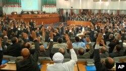 Le Parlement algérien, en novembre 2008.