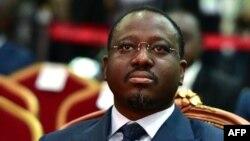 Le président de l'Assemblée nationale de Côte d'Ivoire Guillaume Soro à Abidjan, Côte d'Ivoire, 17 novembre 2017.