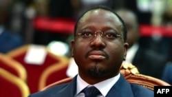 Guillaume Soro, ex-président de l'Assemblée nationale ivoirienne, à Abidjan, le 17 novembre 2017.
