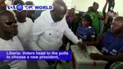 VOA60 World PM - Liberia: Voters head to the polls to choose a new president