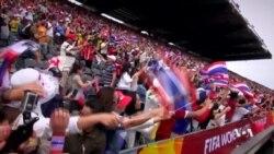 สีสันกองเชียร์ฟุตบอลหญิงไทยนัดประวัติศาสตร์ ในฟุตบอลโลก 2015