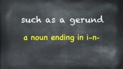 Everyday Grammar: Adjectives + Gerunds