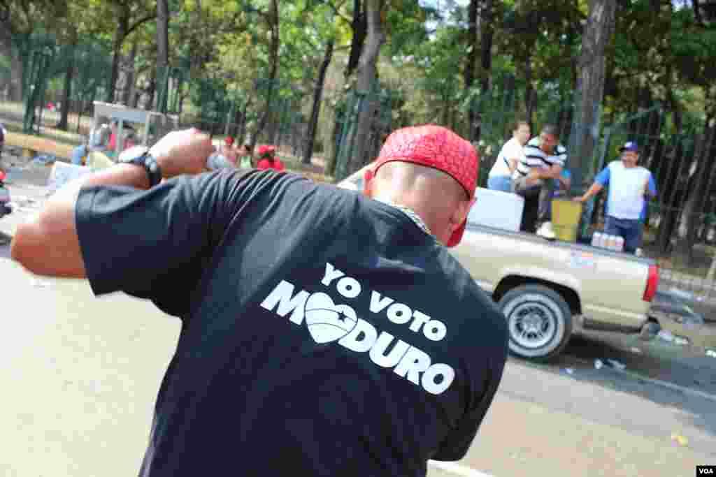 Bailando al ritmo de Maduro. [VOA].