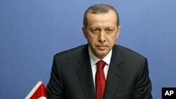 土耳其总理埃尔多安12月22日在安卡拉